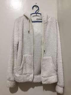 Terranova White Fur Jacket