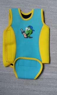 Thermal baby swim suit