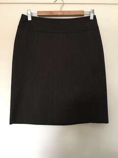 Cue corporate skirt work size 10