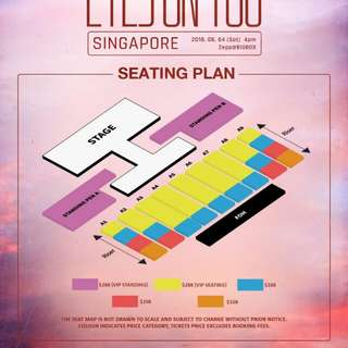[Reserved] Selling Got7 World Tour Ticket in Singapore (original price)