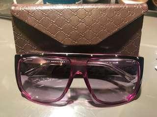 GUCCI 紫色太陽眼鏡