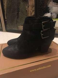🚚 全新 ASH 麂皮短靴 全新 35號
