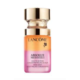 Lancome Absolue rose drop night peeling concentrate RRRP$215