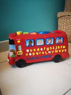 Play Time Bus  with Phonics - Educational toys for little ones