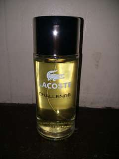 Lacoste perfume (not authentic)
