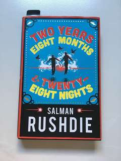 "(BOOK) Salman Rushdie ""Two years, Eight Months And twenty eight Nights."""