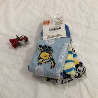 Despicable Me Minion socks from Mothercare