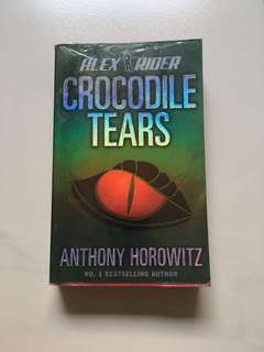 "(BOOK) Anthony Horowitz ""Alex Rider: Crocodile Tears"""