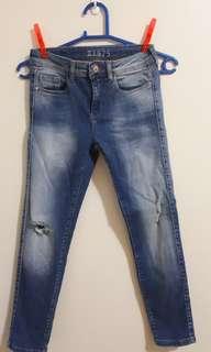 Zara Basic Denim Pants Skinny
