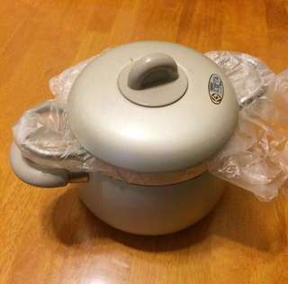 掌廚日本🇯🇵絕版兩手/雙柄雙層鍋