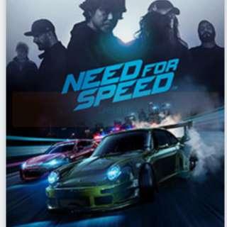 Need for speed 2015 (PC - origin account)