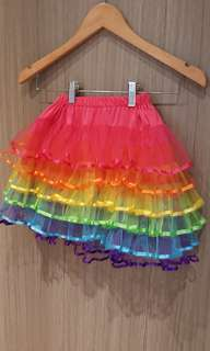 Rok tutu rainbow