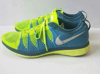 Nike Air Hijau Biru Authentic Original