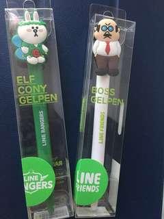 Line Friends 原子筆