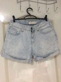 Zara Trafaluc Maong Shorts