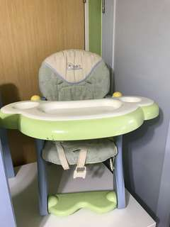 Baby table and chair