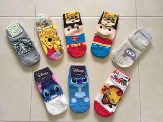 Socks for ladies and kids selling $3 per pair