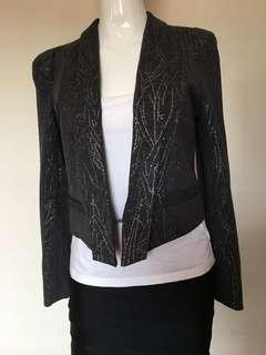 I.d.s blazer silver grey size 12
