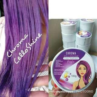 Chroma celloshine color hair treatment