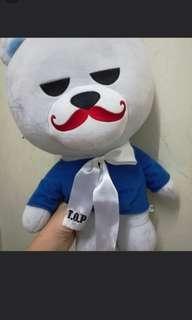 BIGBANG TOP JAPAN OFFICIAL 50cm KRUNK BEAR