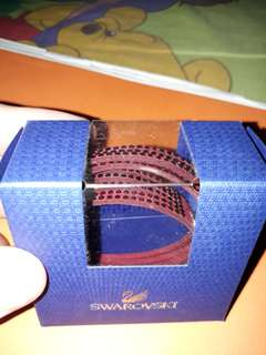 Swarovski Red Slake Bracelet/Bangle (Used a few times)