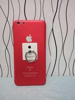 Iphone 6 plus matte Red case #carousm