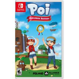 [NEW NOT USED] SWITCH Poi: Explorer Edition Nintendo Polykid Platform Games