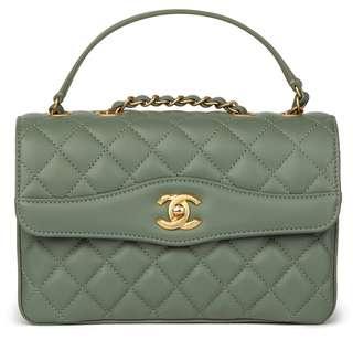 Chanel Coco handle bag Lambskin GHW#25