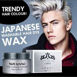 Colour hair Wax - Japanese - Temporary