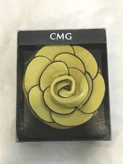 CMG Flower Purse (Yellow)