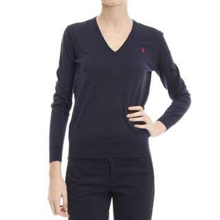 全新 Polo Ralph Lauren V Neck Sweater 冷衫 購自Polo 專門店 有tag 有價錢牌 原價890