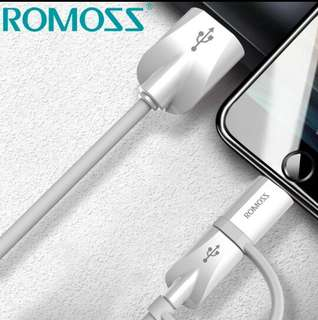 Romoss USB Cable for Android and IOS