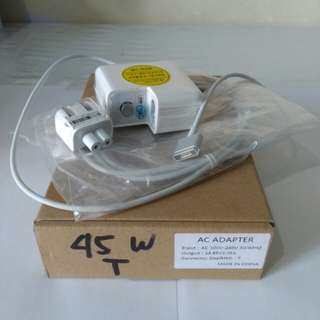 45w T type Magsafe2 power Adapter Macbook Air