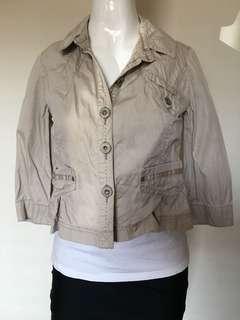 DKNY Petites jacket beige sand P