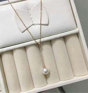 海珍珠K金鏈