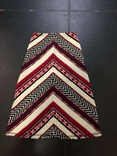 Zara bohemian skirt size xs