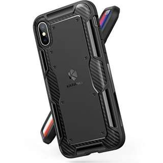 Anker KARAPAX Shield Case Soft TPU with Carbon Texture for iPhone X