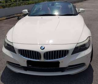 Bmw Z4 3.5A Turbo engine
