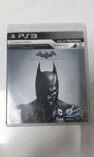 Kaset ps3 BATMAN ARKHAM ORIGINS