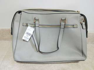 NEW Grey-Silver Handbag / Workbag