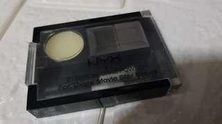 Pre-loved NYX Eyebrow Cake Powder In Black/Grey