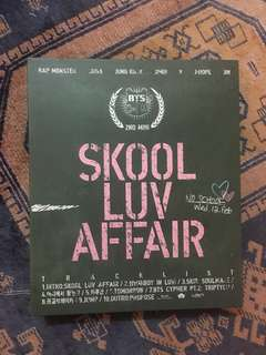 BTS - 2nd Mini Album: Skool Luv Affair