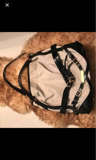 Authentic Burberry Medium Bridle Hobo Bag