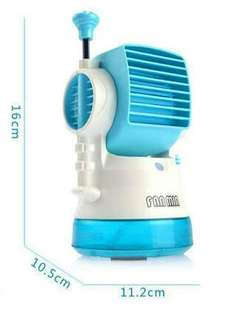 Air conditioning water spray