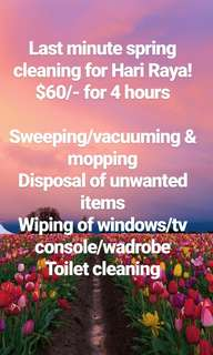 Spring cleaning for Home!