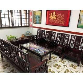 Complete Set of Teak Wood Furniture