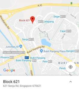 Common room for rent in Senja Road ( Indian owner)