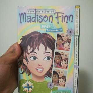 Madison Finn 3books in 1 by Laura Dower