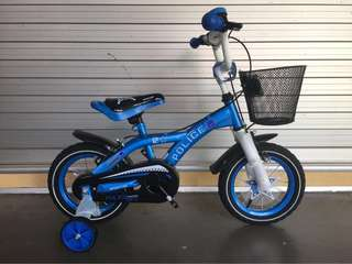 "Sportive 12"" Police Children Bike"