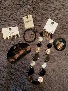 Black & Gold Jewellery Bundle